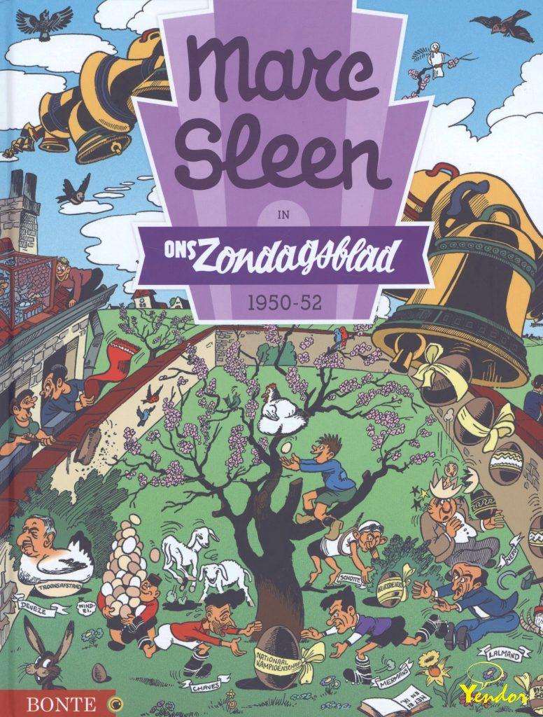 Marc Sleen in  Ons Zondagsblad 1 1950-1952