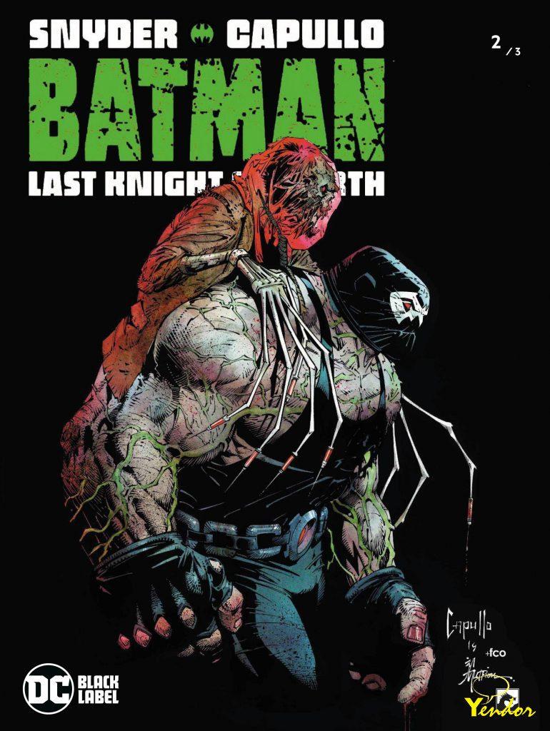 Batman last night on earth 2