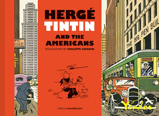 Tintin and the Americans ( Engelstalig)