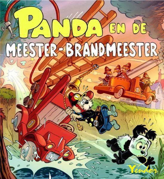 Panda en de meester-brandmeester