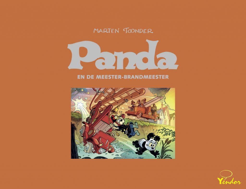 Panda en de meester-brandmeester, luxe editie