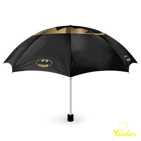 Batman Bat and Gold Paraplu