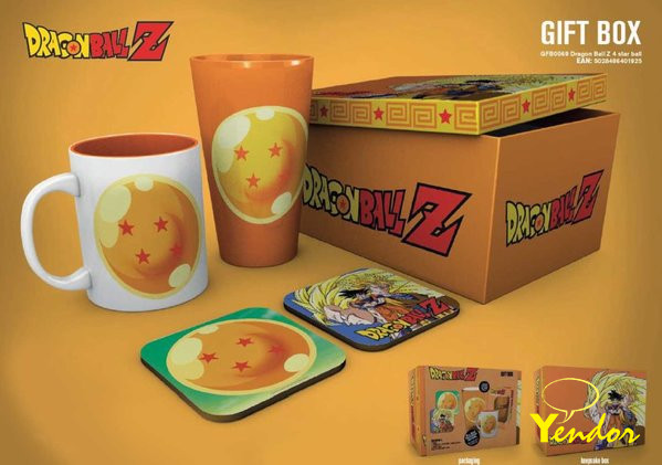 Dragon Ball Z 4 Star Ball Gift Box