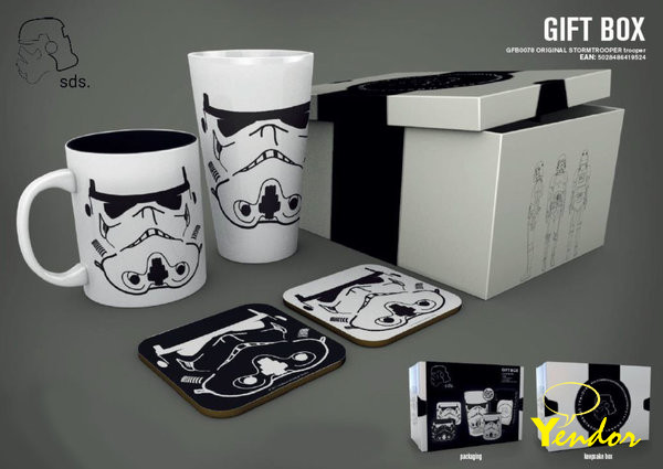 Star Wars Original Stormtrooper Trooper Gift Box