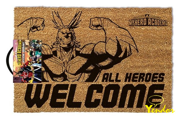 All heroes welcome