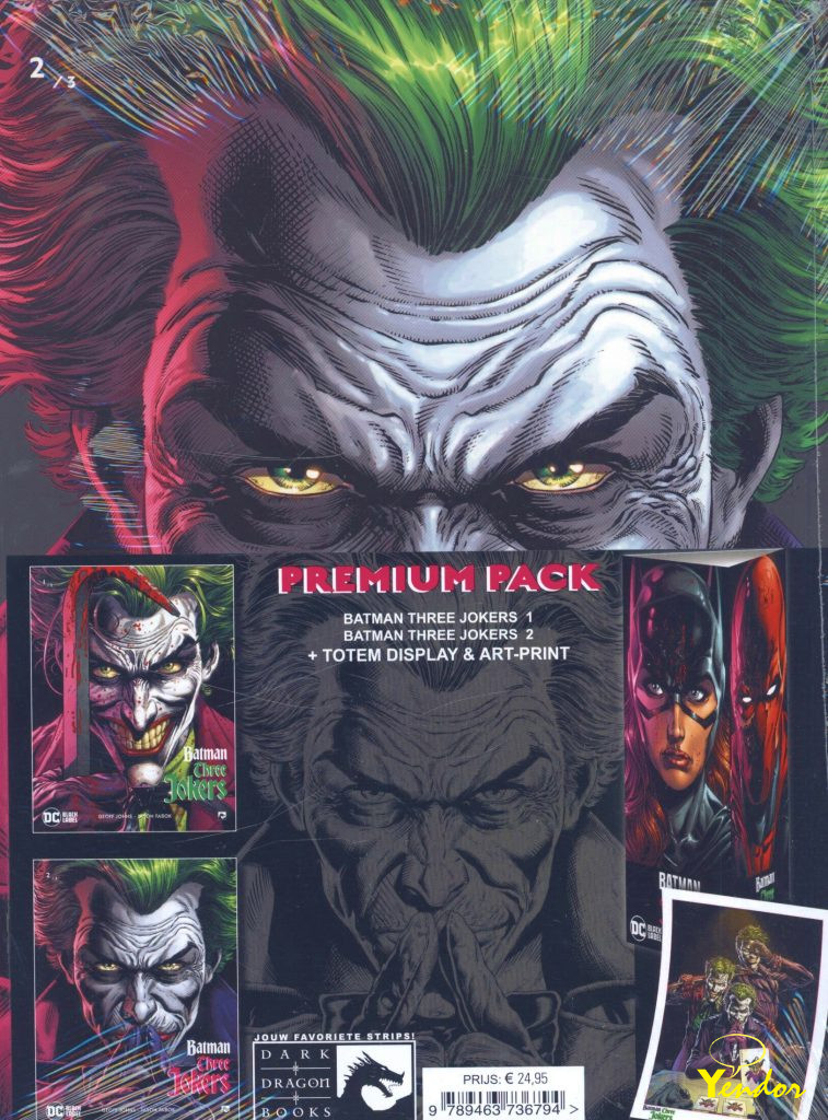 Batman Three Jokers premium pack
