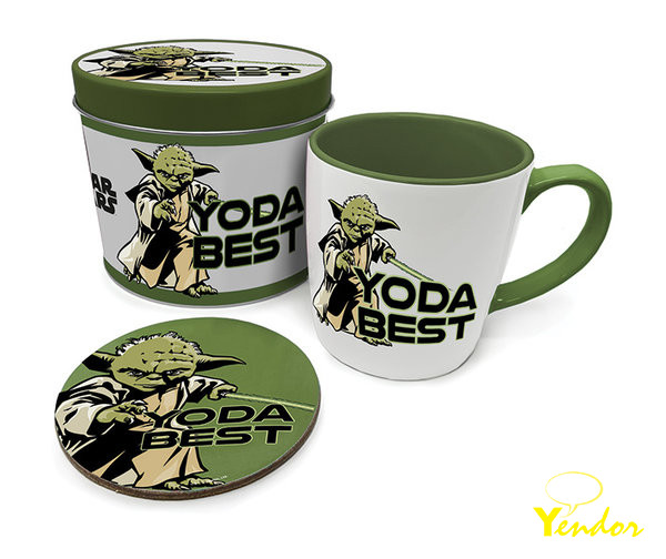 Star Wars Yoda Best Metal Tin Giftset