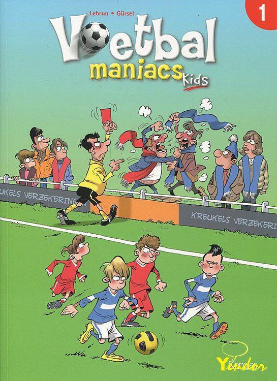 Voetbal maniacs kids 1