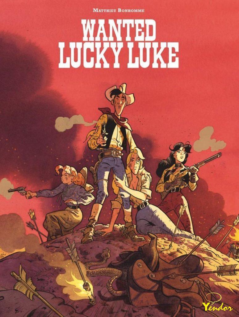 Wanted - Lucky Luke