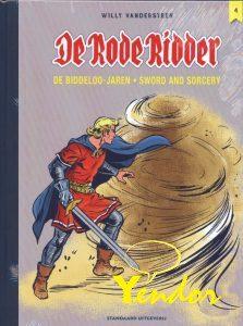 De Rode Ridder integraal 4, De Biddeloo jaren. Alleen voor intekenaars voor deze luxe uitvoering.