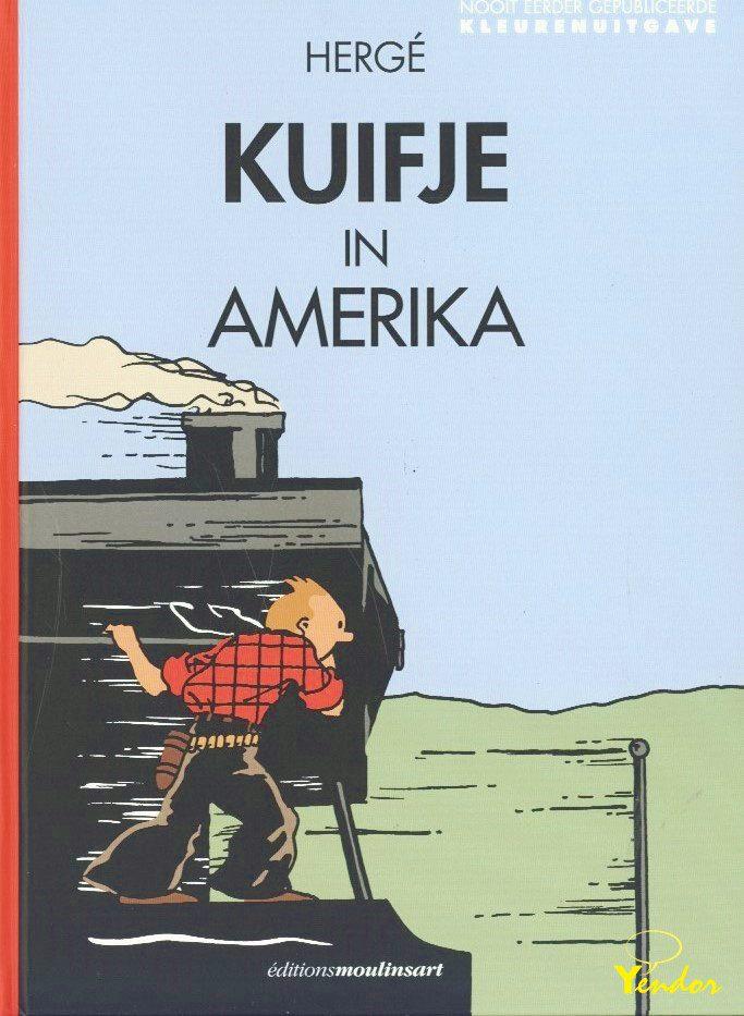 Kuifje in Amerika - kleuren uitgave ( 1932 )Eventjes op volgende week weer aanvulling!