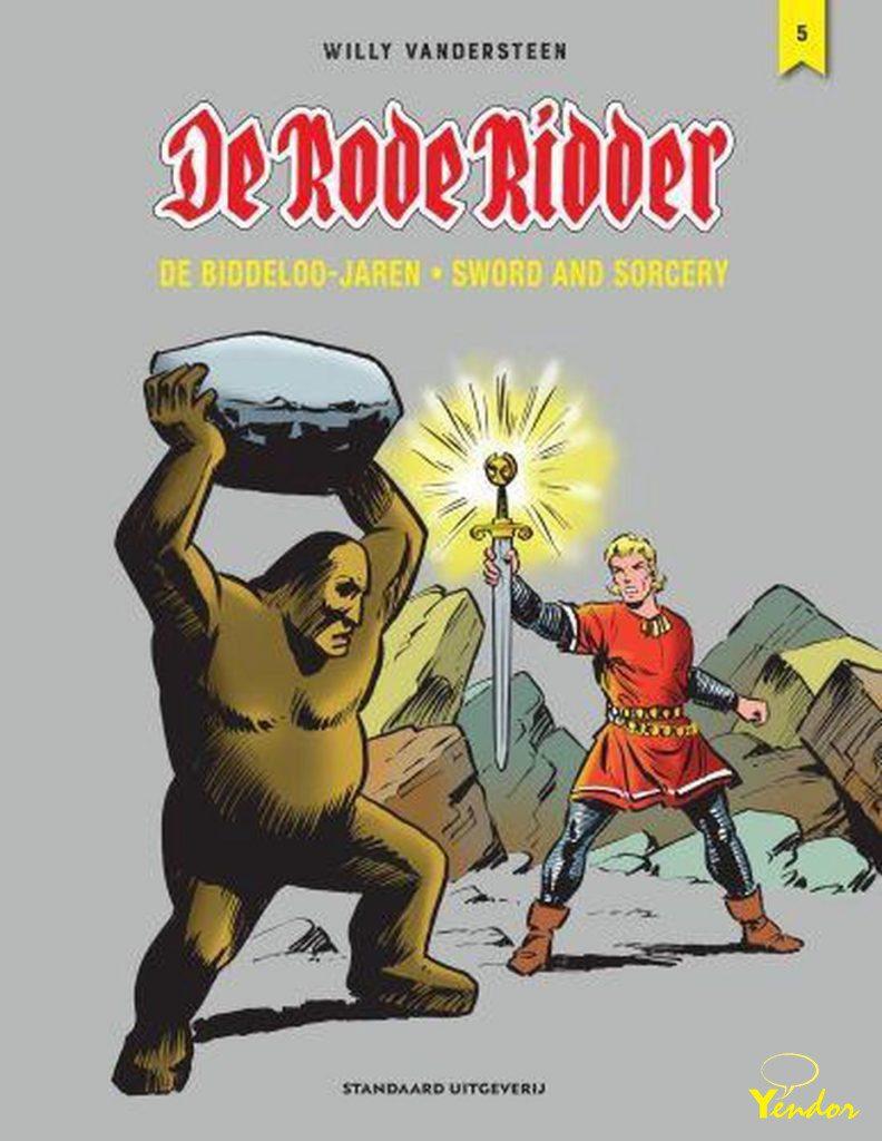 De Rode Ridder integraal, de Biddeloo jaren 5 luxe editie ( alleen beschikbaar voor de intekenaars)