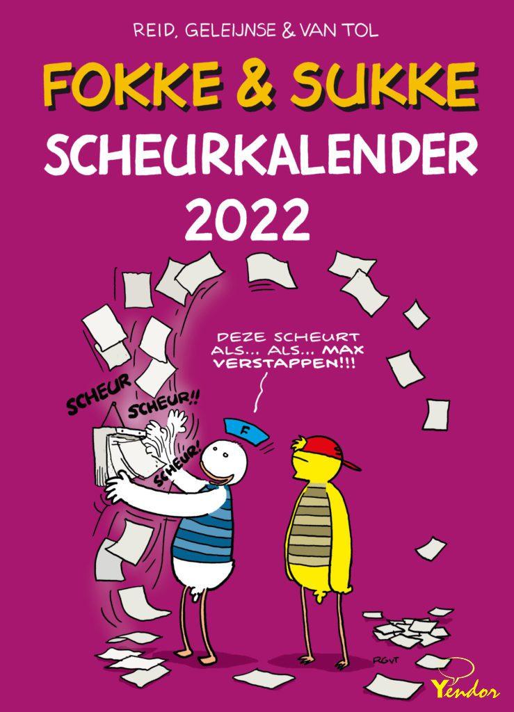 Fokke en Sukke scheurkalender 2022